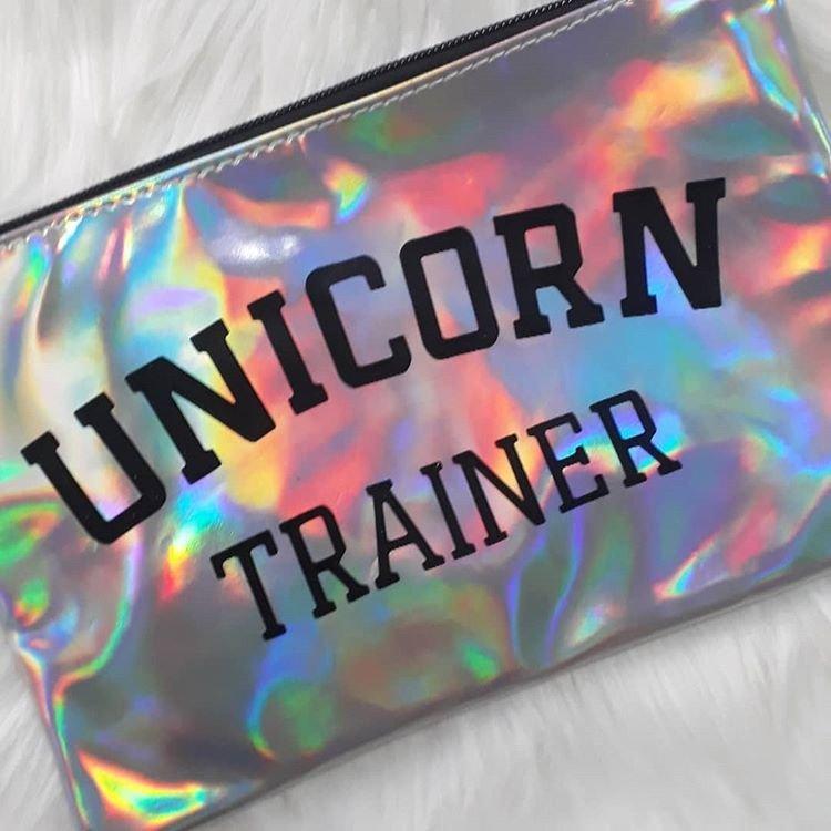 Necessaire Unicorn Trainer Maria Margarida