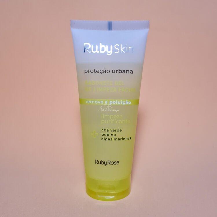 Sabonete Gel de Limpeza Facial Proteção Urbana Ruby Rose