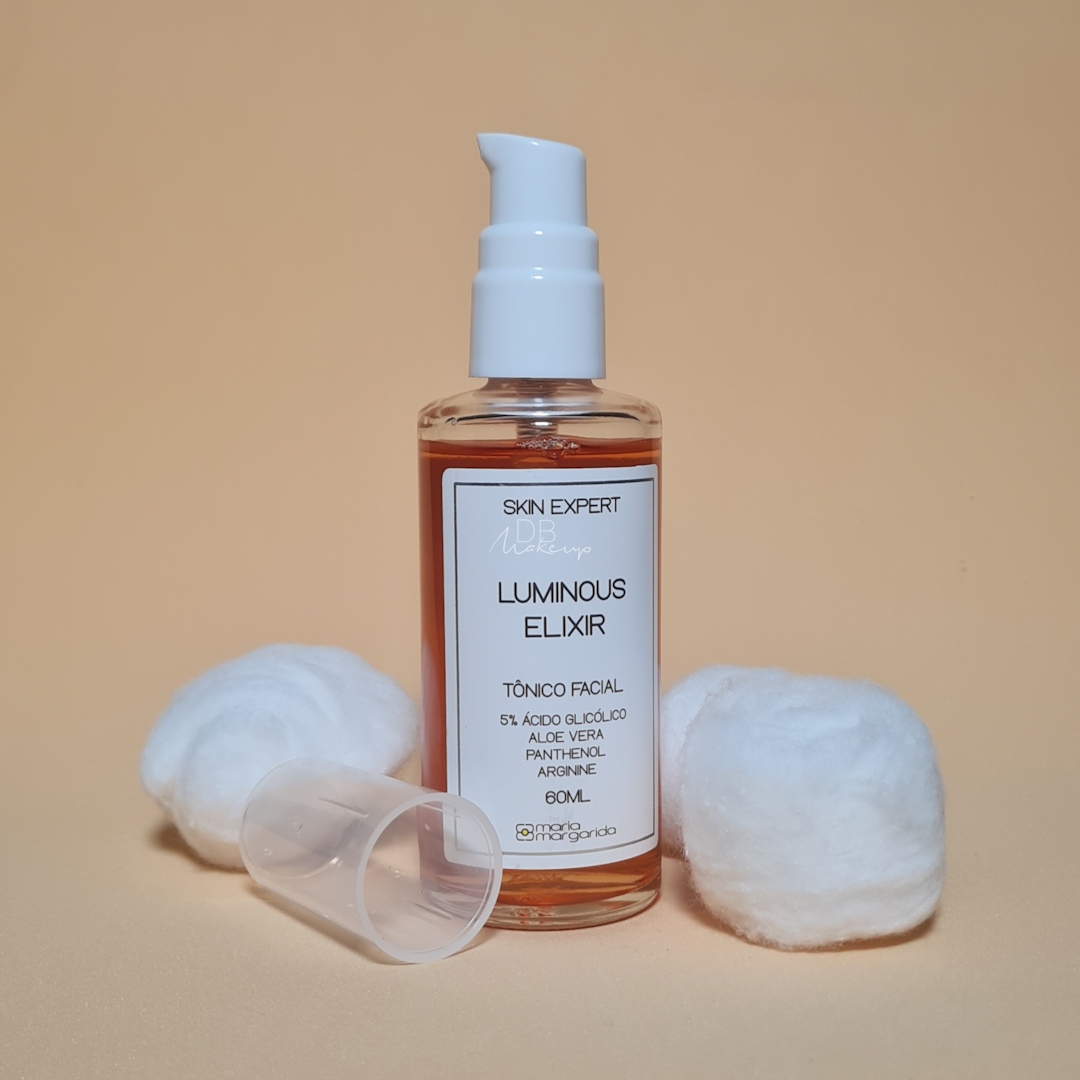 Tônico Facial Luminous Elixir Maria Margarida